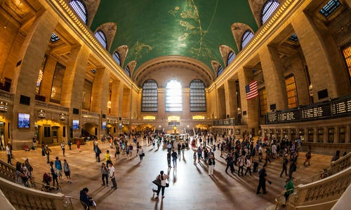 Modern Business Websites act as Grand Central Stations article image.