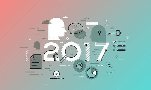 Marketing Trends Shaping 2017 article image.